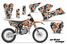 Decal Graphic Kit Sticker Wrap + # Plates For KTM SX85 SX105 2006-2012 URBAN ORG