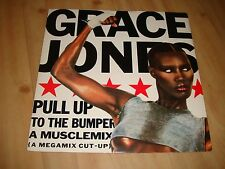 "GRACE JONES-PULL UP TO THE BUMPER/SLAVE TO THE RHYTHM/MUSCLEMIX [ISLAND 12""]"