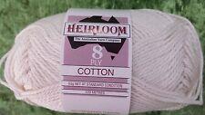 Heirloom Cotton 8 Ply #617 Cream 100% Ctton 50g