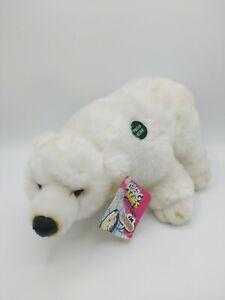 "Iceberg Augie Pollyanna Plush Talking Animal New w/ tags 13"""