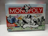 Monopoly Board Game w/ speed dice Hasbro Parker Brothers 2007 100% complete