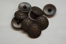 10pc 13mm laiton antique turque inspiré metal cardigan knitwear bouton 3357