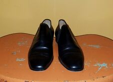 Vintage Ralph Lauren Black Ankle Boots Shoes Slip On Women Size 8.5B
