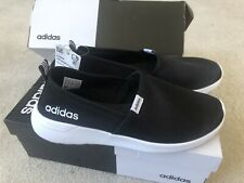 Adidas FX3304 Women Cloudfoam Lite Racer Slip On Sneaker Lightweight Black Sz6/8