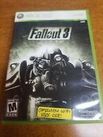 Fallout 3 (Microsoft Xbox 360, 2008)(Complete)(Tested)