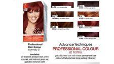 Avon Advance Techniques Professional Hair Colour Dye~VARIOUS~FREE P&P