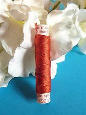 "868b / Superb Coil Drawstring Silk Gutermann "" Red Fire "" No. 363"