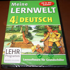 Lernsoftware für Grundschüler 4. Klasse Deutsch Lernhilfe Meine Lernwelt NEU