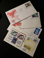 Vintage First Day Cover Issue Stamp Envelopes United Nations 1970'S New York