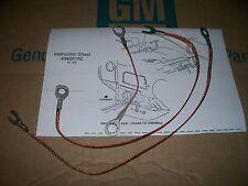 ground strap set 67 68 Chevy Camaro 327 350 396 283 302