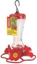 Stokes Select 38235 Impatiens Hummingbird Feeder, 8 Oz