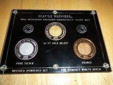 1997 Seattle Mariners Western Division Champions Proof Set #117 of 197