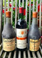 3 Flaschen Rotwein