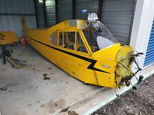 1945 Piper J-3 'Cub', 3952 Ttaf, Damage To Left Fuselage And Left Spar Only,