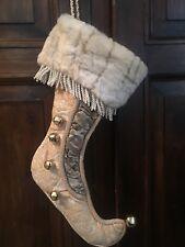 calza della Befana luxury decorazione casa negozio 50 cm.
