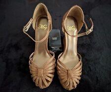 8e52f7d377d BNIB Mango Bronze Wedge Shoes - Size 3 - Make Offer