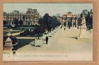 Cpa Paris - le jardin des Tuileries et l'Arc de Triomphe du Carrousel tp0470
