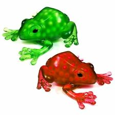 Set of 2 Squeezy Frog Sensory Toys  - Fun Slime Filled Toys - Fidget Autism ADHD