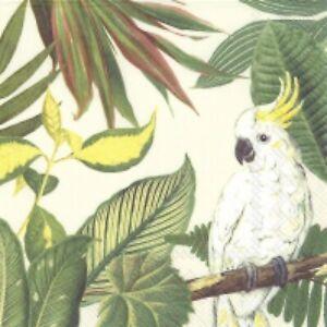 4 x paper napkins for decoupage, crafts, scrapbooks - Cockatoo