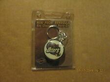 Uhl Missouri River Otters Vintage Defunct Nip Team Logo Mini Puck Key Chain