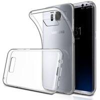 Handyhülle Samsung Galaxy S8 Hülle Handy case Schutzhülle 0,8mm Transparent Cove