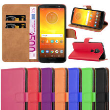 For Motorola Moto E5 Phone Case Luxury Leather Magnetic Flip Wallet Stand Cover