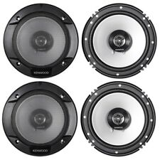 4)Kenwood KFC-1666S 6.5 Inch 300W 2-Way Car Audio Door Coaxial Speakers