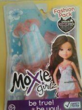 Moxie Girlz Doll Fashion Pack (Fits Bratz) Blue & Pink Pajamas Top & Bottom New