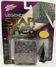 STAR TREK THE NEXT GENERATION : BORG CUBE CARDED MODEL BY JOHNNY LIGHTNING