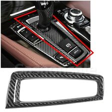 Made for BMW F10 F11 5-Series Carbon Fiber Gear Shifter Shift Surround Cover