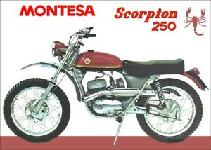 MONTESA SCORPION 250 175 CHAIN GUARD + BODY FRAME PLASTIC PARTS SCORPION 175 NEW