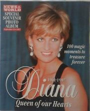 PRINCESS DIANA NEWS OF THE WORLD SOUVENIR MAGAZINE 14TH SEPTEMBER 1997 EX CON