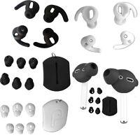 Silikon Ear Pads Earmuffs + Ear Pads Cover für New Airpods 1 2 Kopfhörer Zubehör