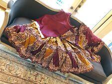 Bridal Dress Wedding Gharara Indian Pakistani Blood Red Mustard Gold Burgundy