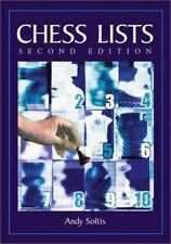Chess Lists, 2d ed., Andy Soltis, Good Book