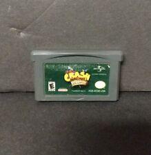 Crash Bandicoot: The Huge Adventure (Nintendo Game Boy Advance, 2002) Gba Cart