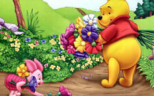 Disney Winnie the Pooh Flowers Cross Stitch Chart
