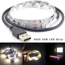 50CM 1M 1.5M 2M TV Background Party home DC 5V 5050 Led Strip Light USB ledstrip