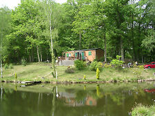 Lakeside Lodge Dordogne France - Family and Fishing holidays.1st-8th Sept 2018