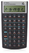 HP 10bII Financial Calculator with Case Sleeve