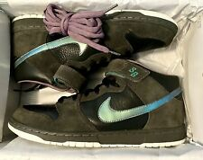 NIKE DUNK MID PREMIUM SB NORTHERN LIGHTS BLACK SEA GREEN SZ 12 NEW 314381-031 DS