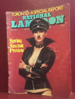 """Vintage National Lampoons """"The Humor Magazine"""" February 1978 Spring Issue"""