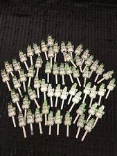 Cute Lot Of 57 Snowman Cupcake Picks Decoration - Plastic
