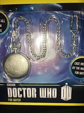 Doctor who  50th Anniversary 11 doctors   fob watch with metal  chain