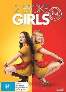 2 BROKE GIRLS : Seasons 1 2 3 4 : NEW DVD Box Set