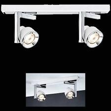 Paulmann Deckenleuchte Spotlight Turn Balken 2x40W GU10 Weiß Chrom 602.38