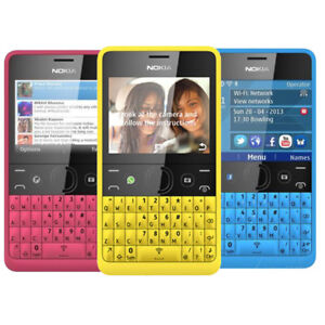 Nokia Asha 210 Dual SIM Unlocked Original Bluetooth MP3 GSM Wifi Cell Phone