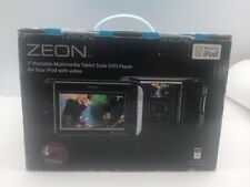 """Zeon 7"""" Portable Multimedia Tablet Style DVD Player Made for IPOD"""