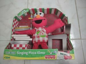 Singing Pizza Elmo by Fisher-Price Used in the Box read description