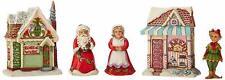 """Jim Shore Heartwood Creek """"Santa's Christmas Village""""4044516*BNIB*Set/5BNIB"""